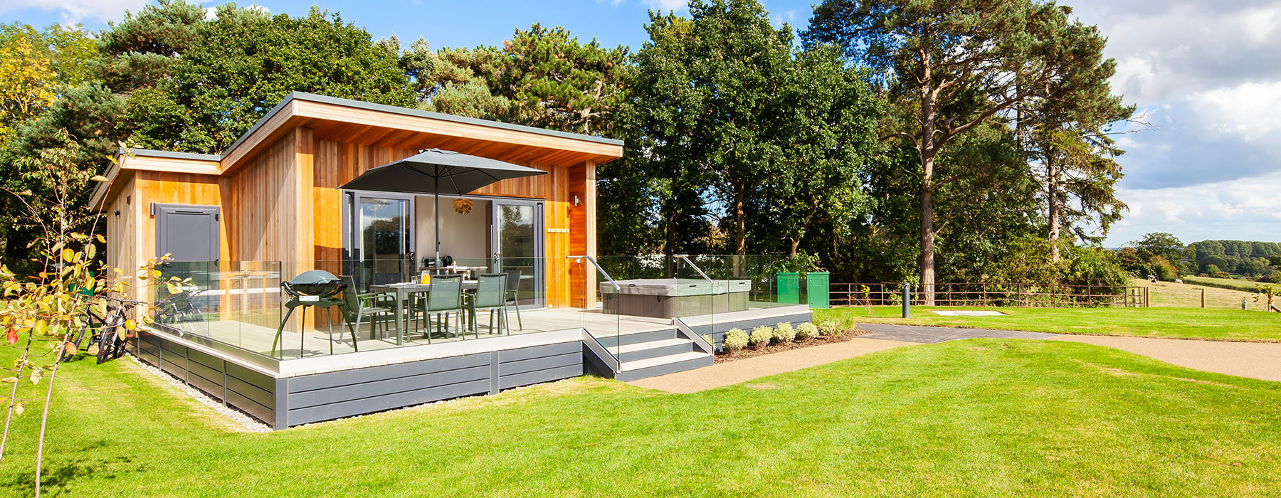 Luxury Glamping Lodges Now Open - Plassey