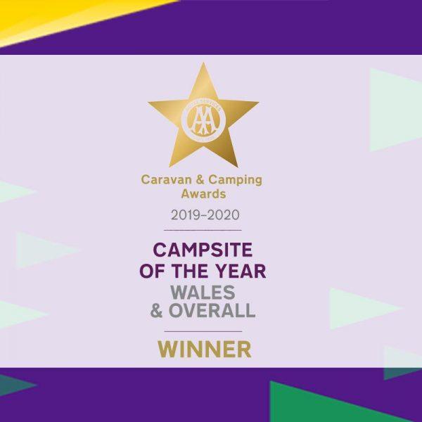 AA Caravan and Camping Award winners